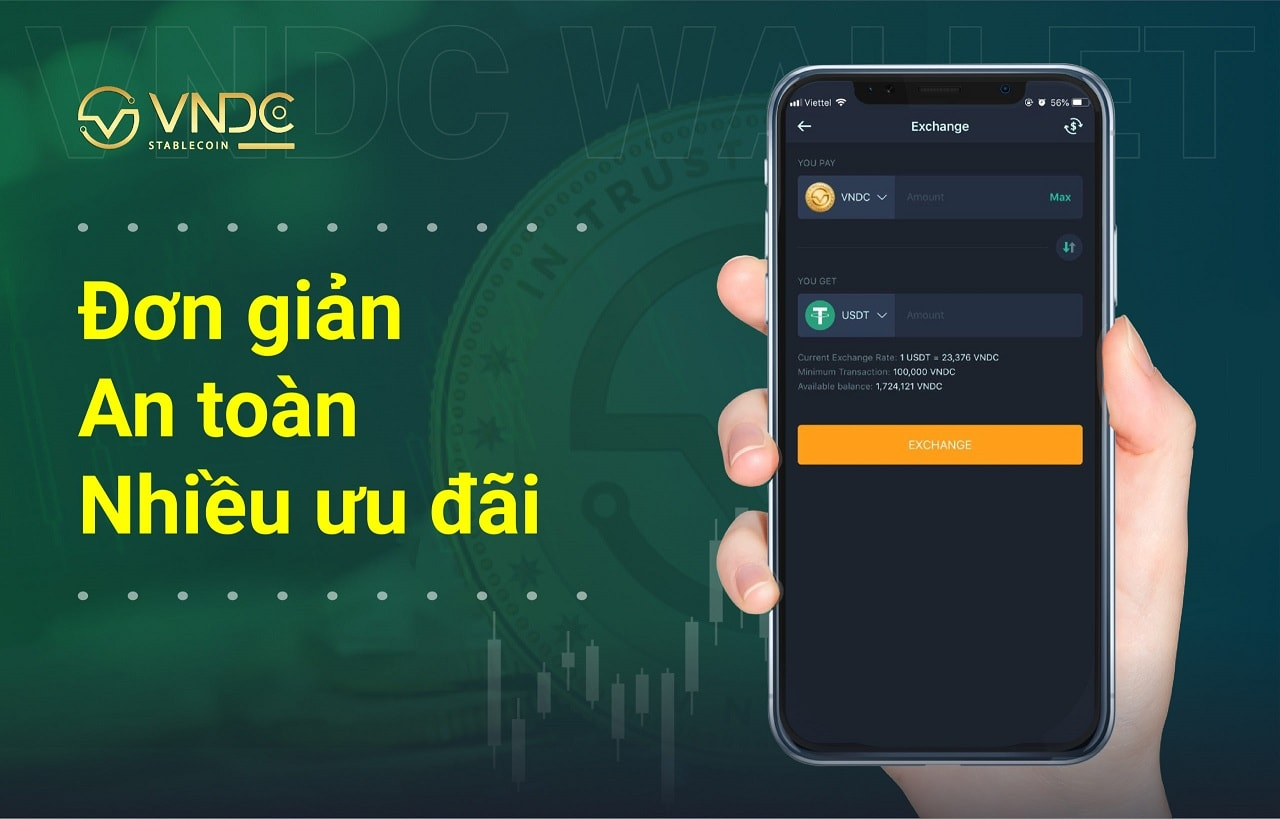 Sàn VNDC - Cách kiếm 500k/Ngày với dự án VNDC Việt Nam